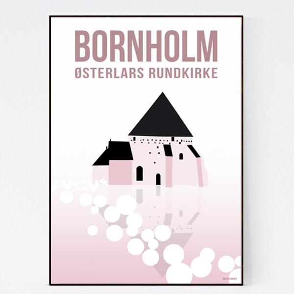 rundkirke_malenesommer-bornholm-plakat